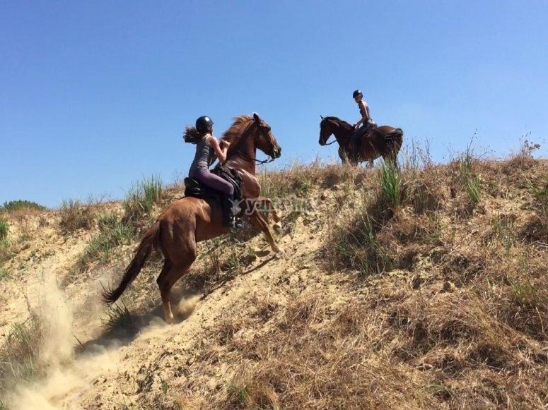 Aventuras a caballo Huelva
