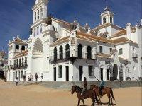 Paseo a caballo en El Rocío