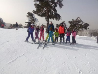 Clases de esquí en Madrid fin de semana