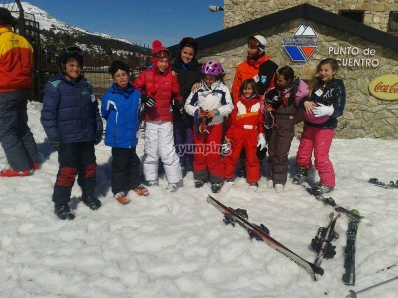 Grupo en Valdesqui