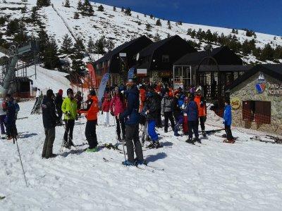 Curso de esquí en Navacerrada o Valdesqui 5 h