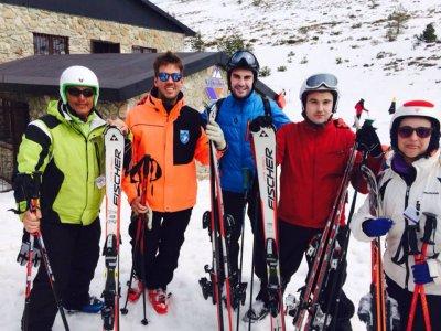 Esquiar en Madrid con equipo incluido