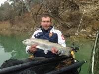 Orgulloso de su pesca