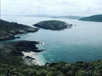 群岛Sisargas在加利西亚海岸队