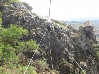Via ferrata tour on Gracia mountains