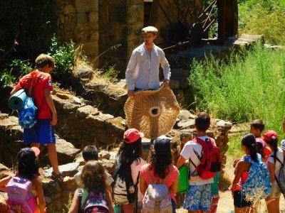 Viaje escolar actividades en Sierra de Gata 2 días