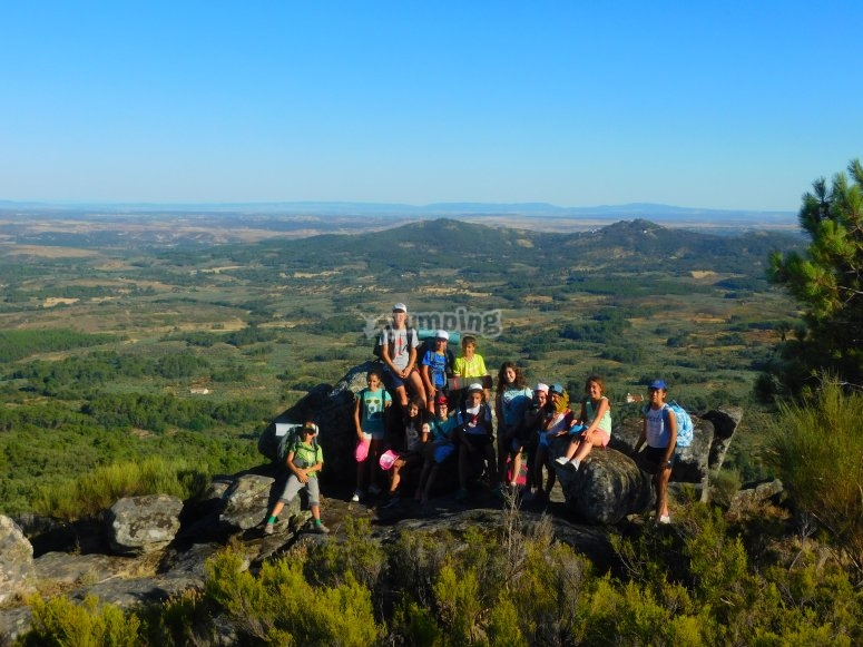 Hiking routes with instructors