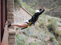 Bungee Jumping in December in Almería