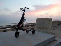 Getting to know Cadiz by trikke