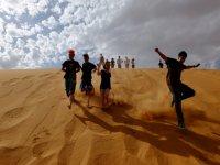 Bajando dunas