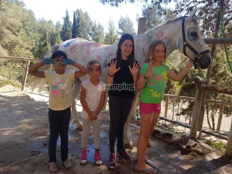 Mmanualidades con caballos