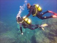 首次联系潜水