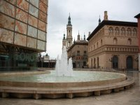 Plaza de la Seo en Zaragoza