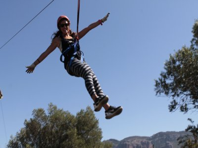 Level 1 Zip-line Course, Murillo de Gállego