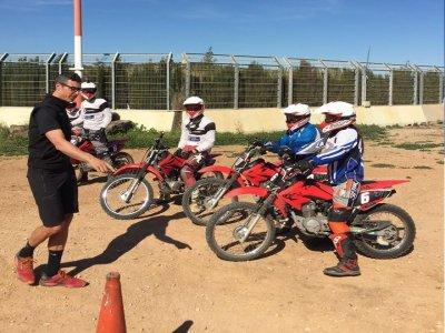 Motorbike ride groups Ricardo Tomo track