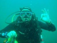 Viviendo la primera experiencia submarina