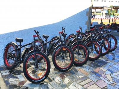 Alquilar bicicleta eléctrica Fat Bike Bierzo 2h