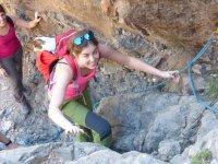 Jornada de escalada en Canarias