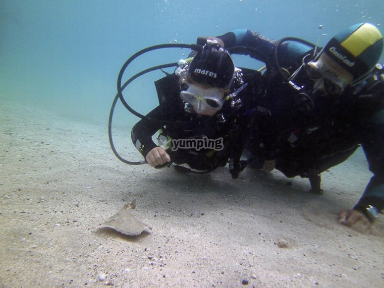 Doce metros de profundidad