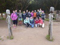 Grupo de senderismo