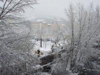 Neve in primavera in Andorra
