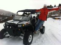 Pronto a guidare sulla neve