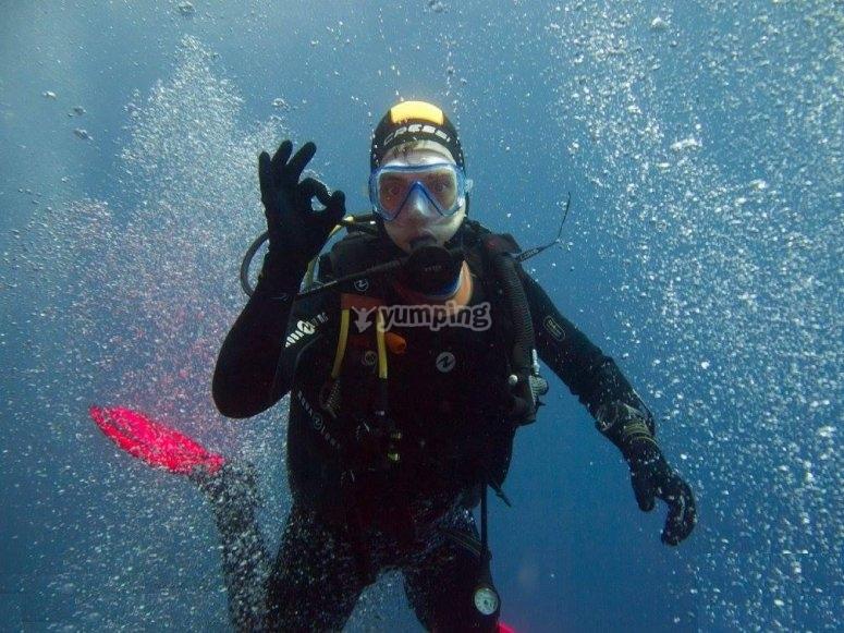 Conocer el mundo submarino