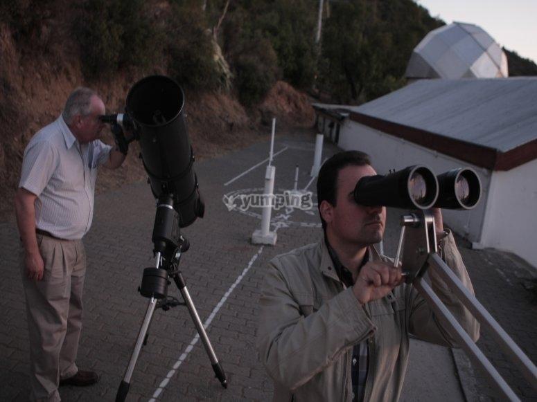 Observando los astros