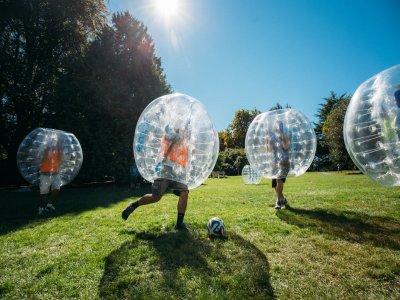 Bubble football in Navarra