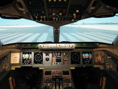 Flight Simulator in Barcelona, 1 Hour