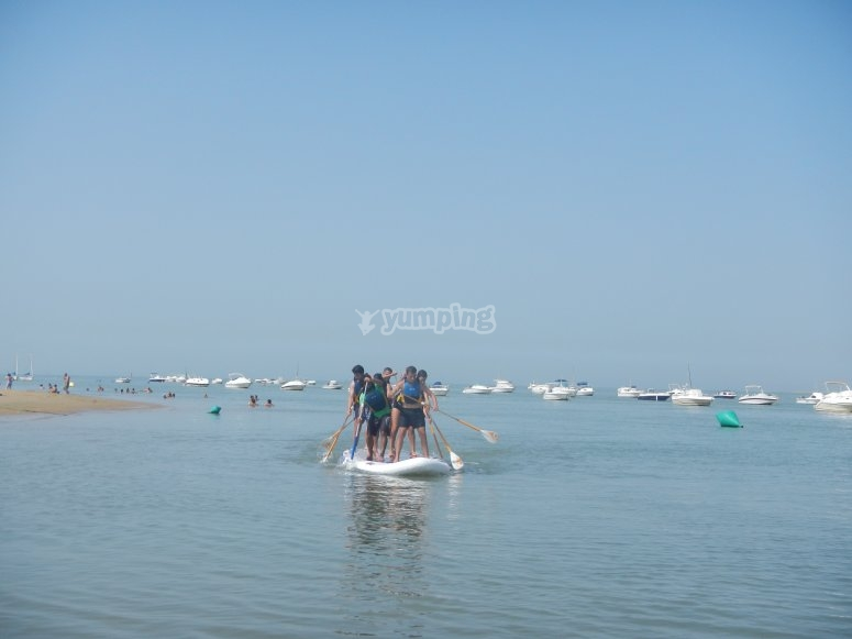 Paddle surf colectivo