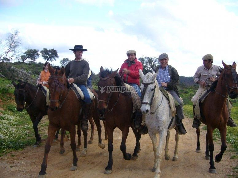 Disfruta del caballo