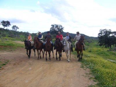 Horse ride in Sierra Morena
