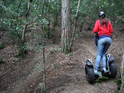 CastellJalpí的Segway代步车和高空滑索