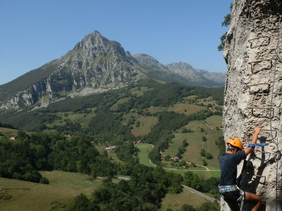 Via Ferrata and Abseiling Ramales de la Victoria