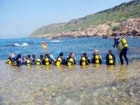 潜水员浅滩Repartiendo