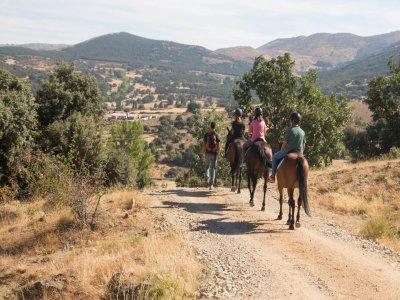 Ruta a caballo por la Sierra de Villafranca 1 hora