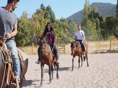 Paseo a caballo por el Valle del Corneja 2 horas