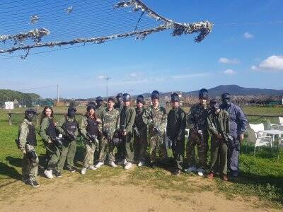 Partida de paintball en Torrent D