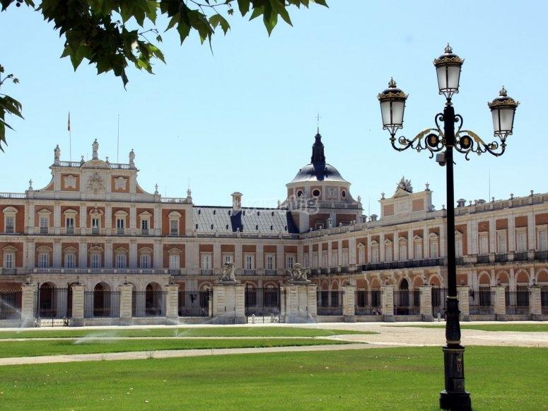 在阿兰胡埃斯宫(Aranjuez)