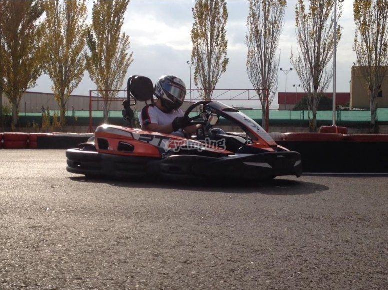 Circuito de karting en Rivas
