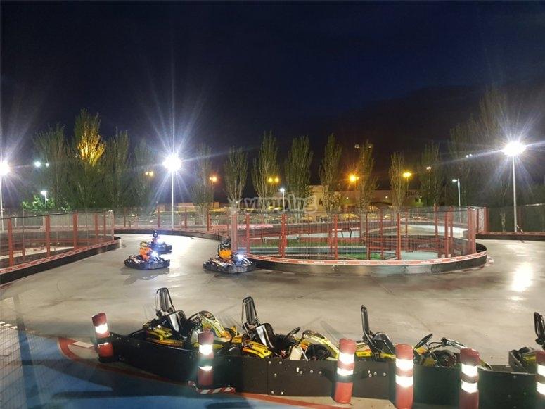 Tandas de karting en Rivas