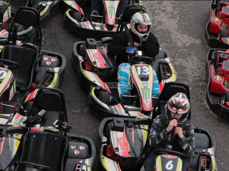 Torneo de karting en Rivas