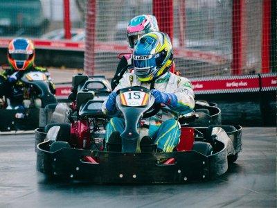Torneo de karting Smart GP 2 tandas en Rivas 20min