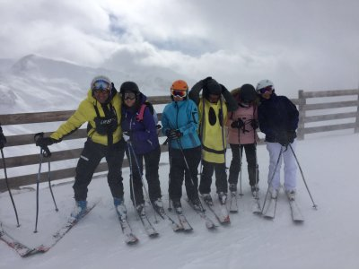 圣诞节马德里的滑雪课程