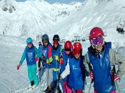 Valdesquí滑雪场适合3至5岁的儿童使用