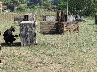 Partida de paintball Torrent D
