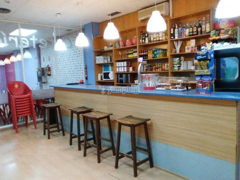 Barra de cafeteria bar