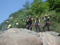 Bailando en la roca