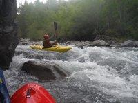 Corrientes en el rio